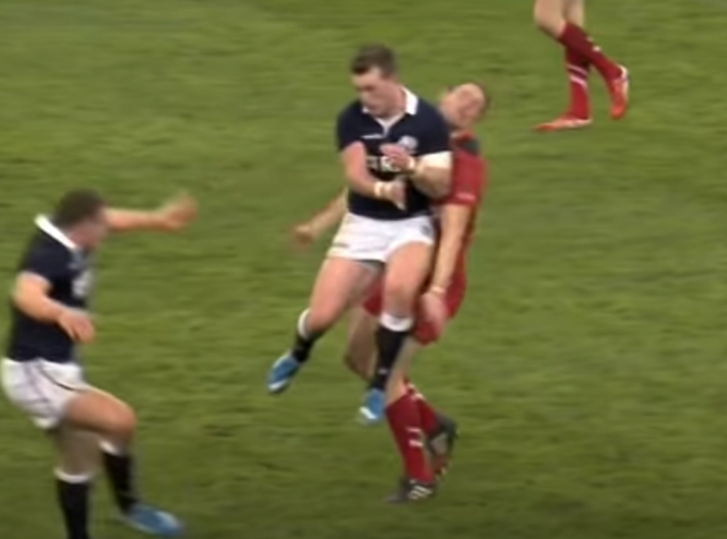 Stuart Hogg red card