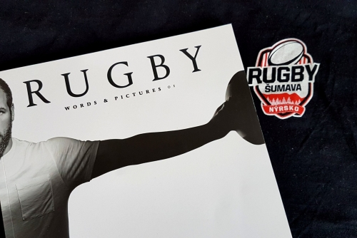 Rugby magazine cover